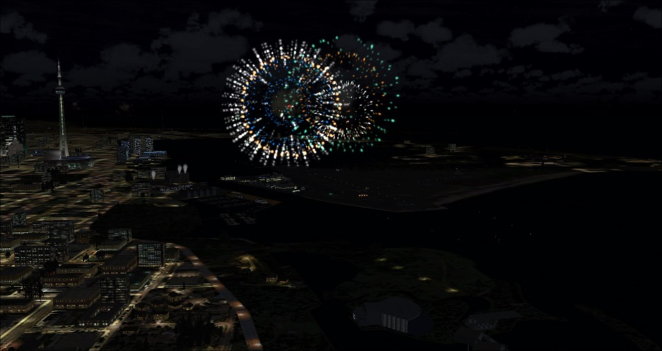 FREE Canada Day Fireworks for Toronto! (FSX only) – Final